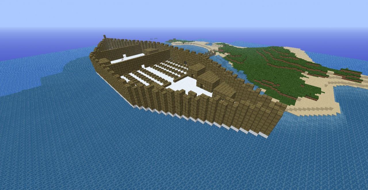 Survival Cruise Read Description Minecraft Project