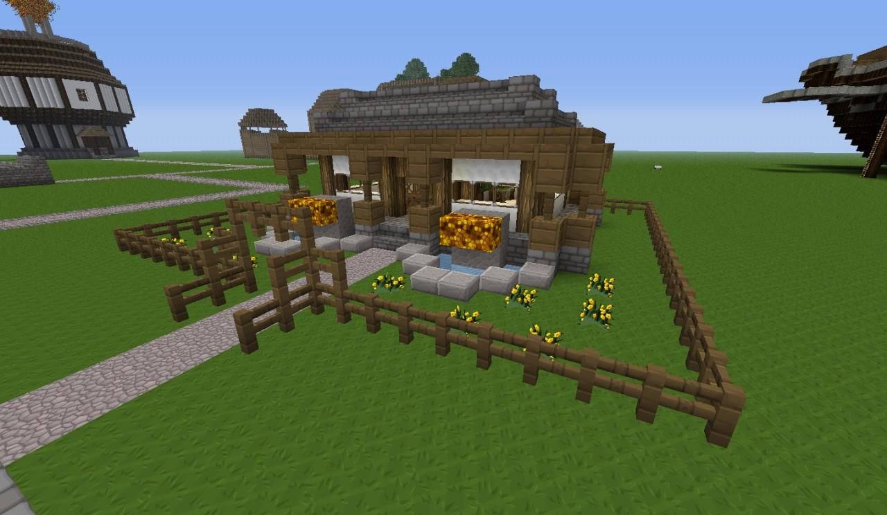 Rammex Cozy Cottage Minecraft Project