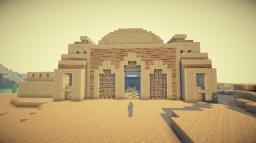 Desert 's tomb Minecraft