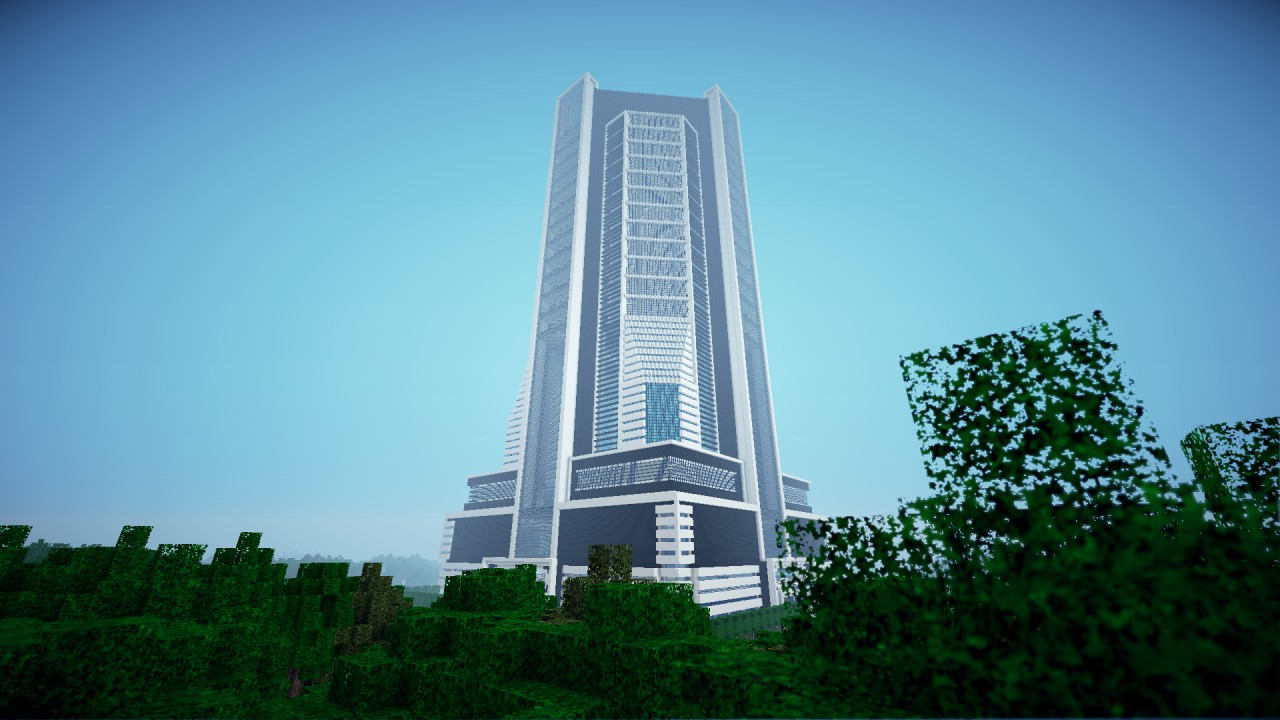 Ucp Skyscraper Central Station Minecraft Project