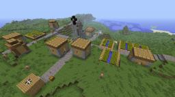 The Mysteries of Notch Part 2: The Town (Updated 1.3) Minecraft Map & Project