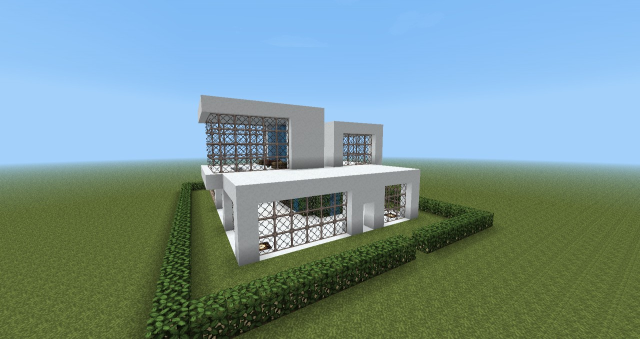 Modern house design minecraft project for Minecraft modern house 9minecraft