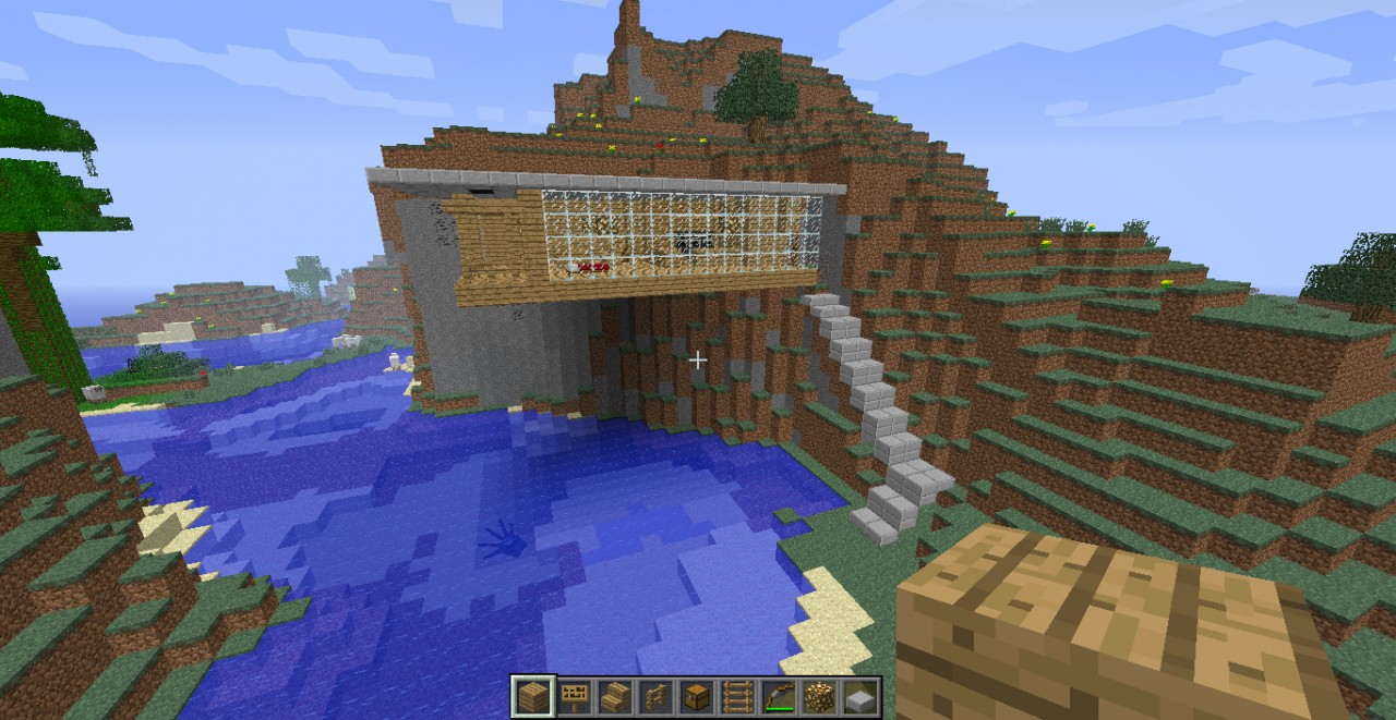 Cliff House AWESOME Minecraft Project