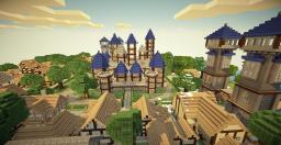 Kingdom of Verona - Medieval City, Castle and Villages Minecraft Map & Project