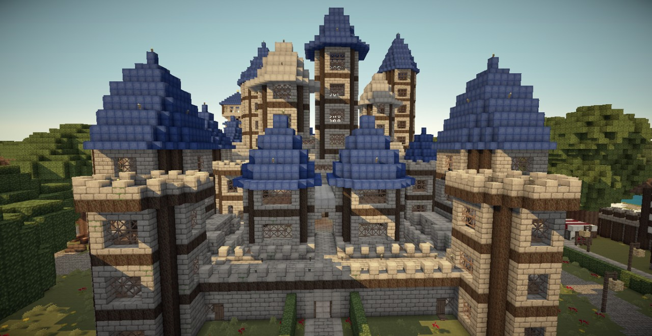 Minecraft Command To Build Castle