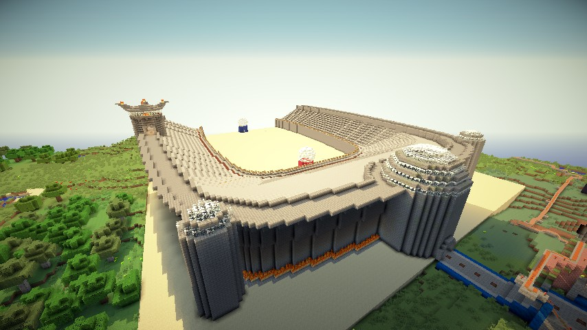 In-progress PvP arena. Looking for a good pvparena plugin!
