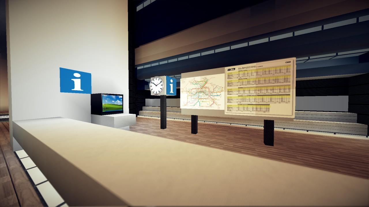 Train station details