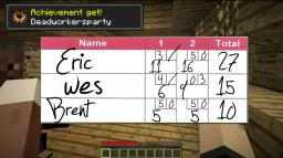 Bowling lane - played by Deadworkersparty Minecraft Map & Project
