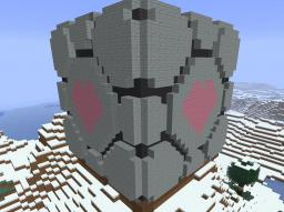 Companion cube Minecraft Map & Project