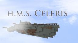 H.M.S. Celeris - Interceptor Class Airship Minecraft Map & Project