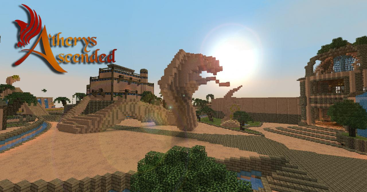 A Therys Ascended Build Bundle 1 Minecraft Project