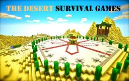 The Desert Survival Games Minecraft Project
