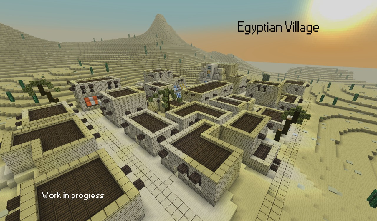 minecraft house designs planet with Egyptian Village Wip on Arch Of Enlightenment together with Little Nice Back Yard also Jamziboy Minecraft Gothic Style Manor further Gondolin as well 32x32 Plot Build.
