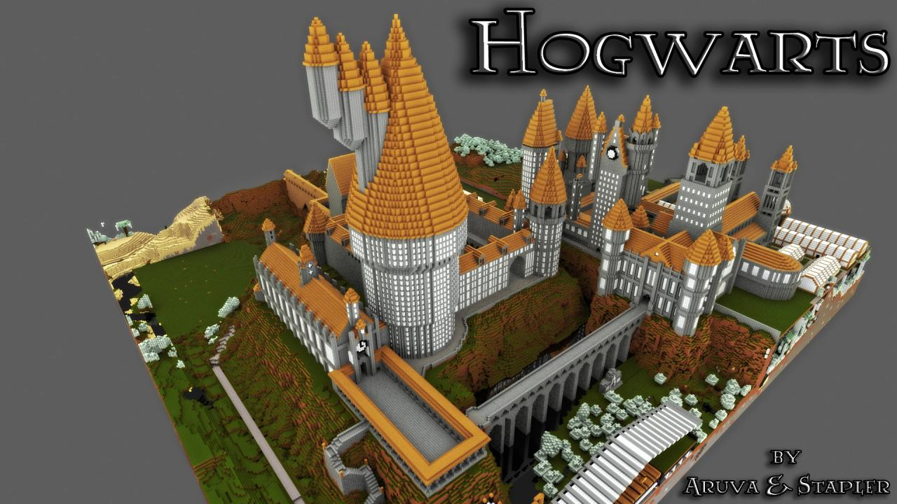 Hogwarts In Arcadia Minecraft Project