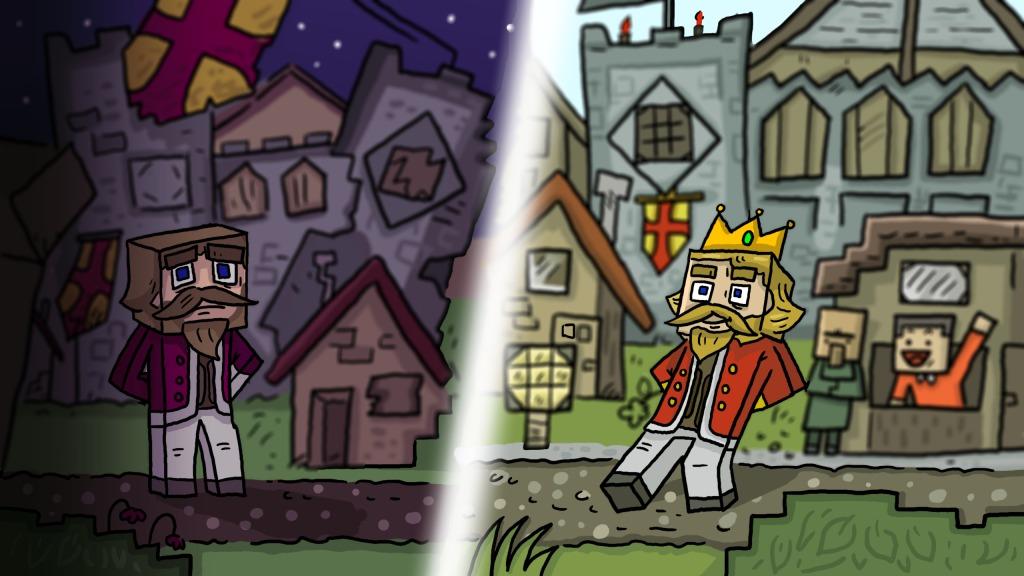 Fallen Kingdom Wallpaper Minecraft Project