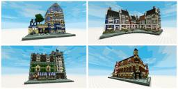 Lego Set, 4 buildings [1.2.5 ready] Minecraft Project