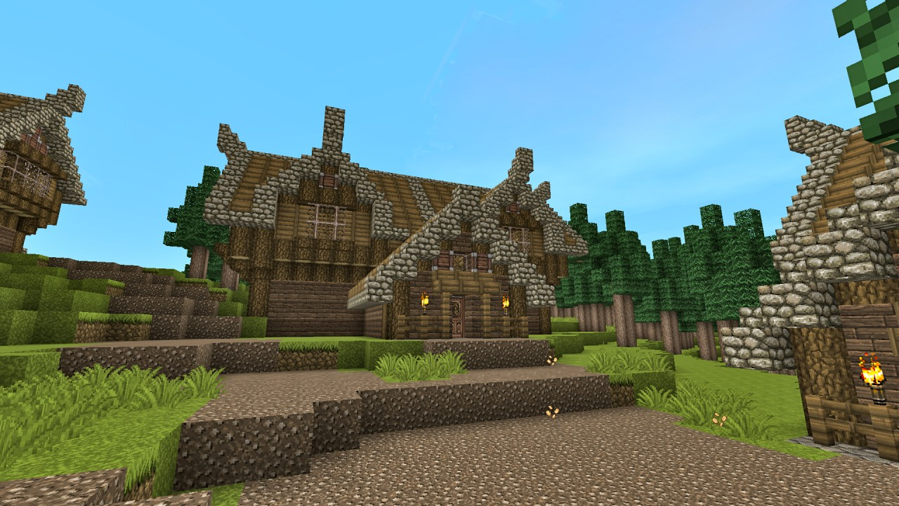 MEDIEVAL HOUSE DESIGN TUTORIAL (PART 3) Minecraft Project