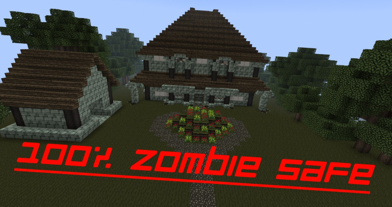 Xaman S Medieval Styled Zombie Safe Villa Minecraft Project