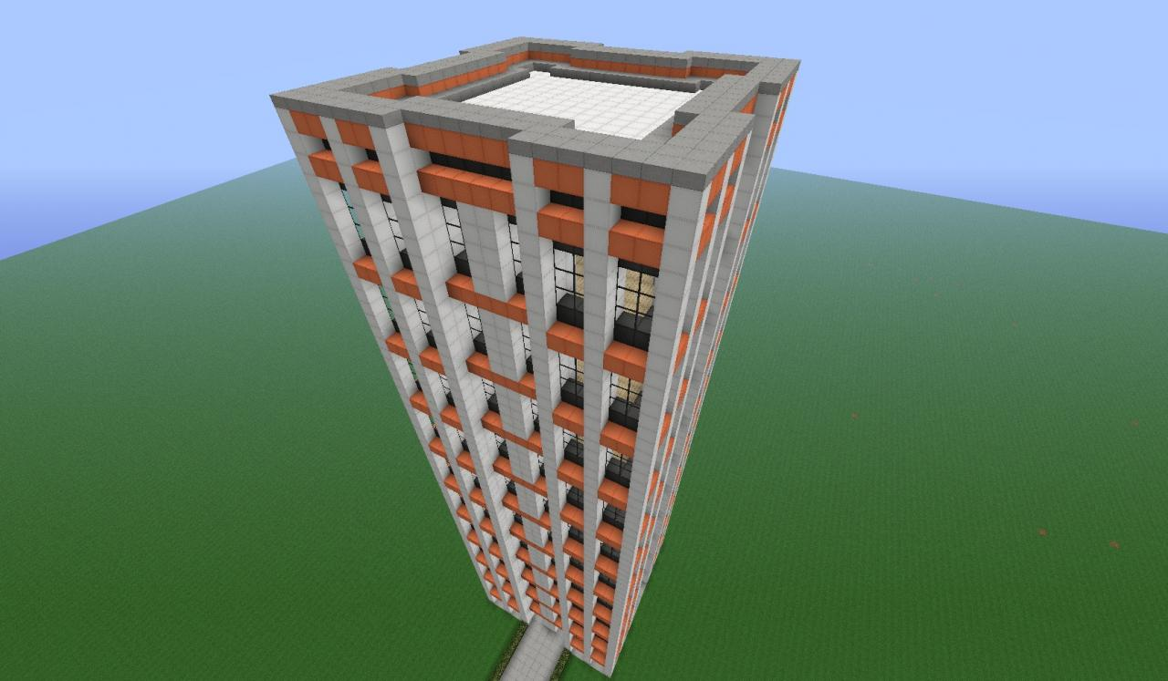 Orangesky Office Building Minecraft Project