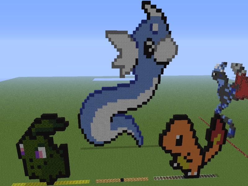 Pixel Art Minecraft Easy Pokemon – images free download