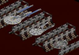 USS Excelsior, USS Enterprise & USS Reliant - New 1.7.4 update Minecraft Map & Project