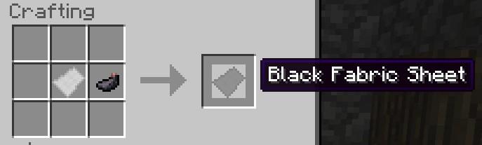 Black Fabric Sheet Recipe