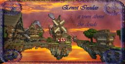 Ernest Insulea ~ Town above the clouds (50th subscriber) With video Minecraft