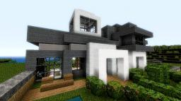 Chic Modern Home Minecraft Map & Project