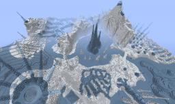 Custom Terrain: Winter Nightmare Minecraft Project