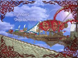 Xylvions Airship Building Bundle (XABB) 8 ships 1 balloon! Minecraft Map & Project