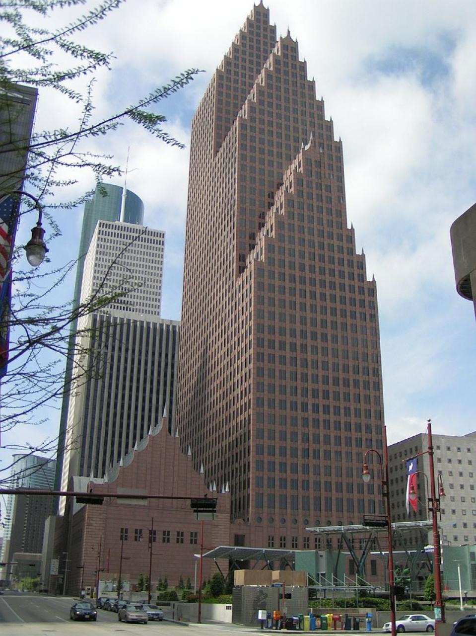 Bank Of America Houston Minecraft Project