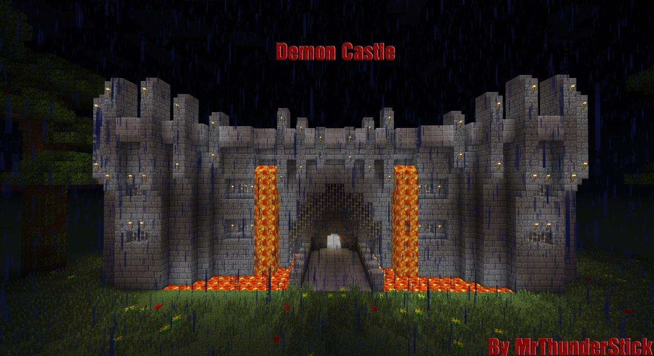 Demon Castle Mrthunderstick Minecraft Project