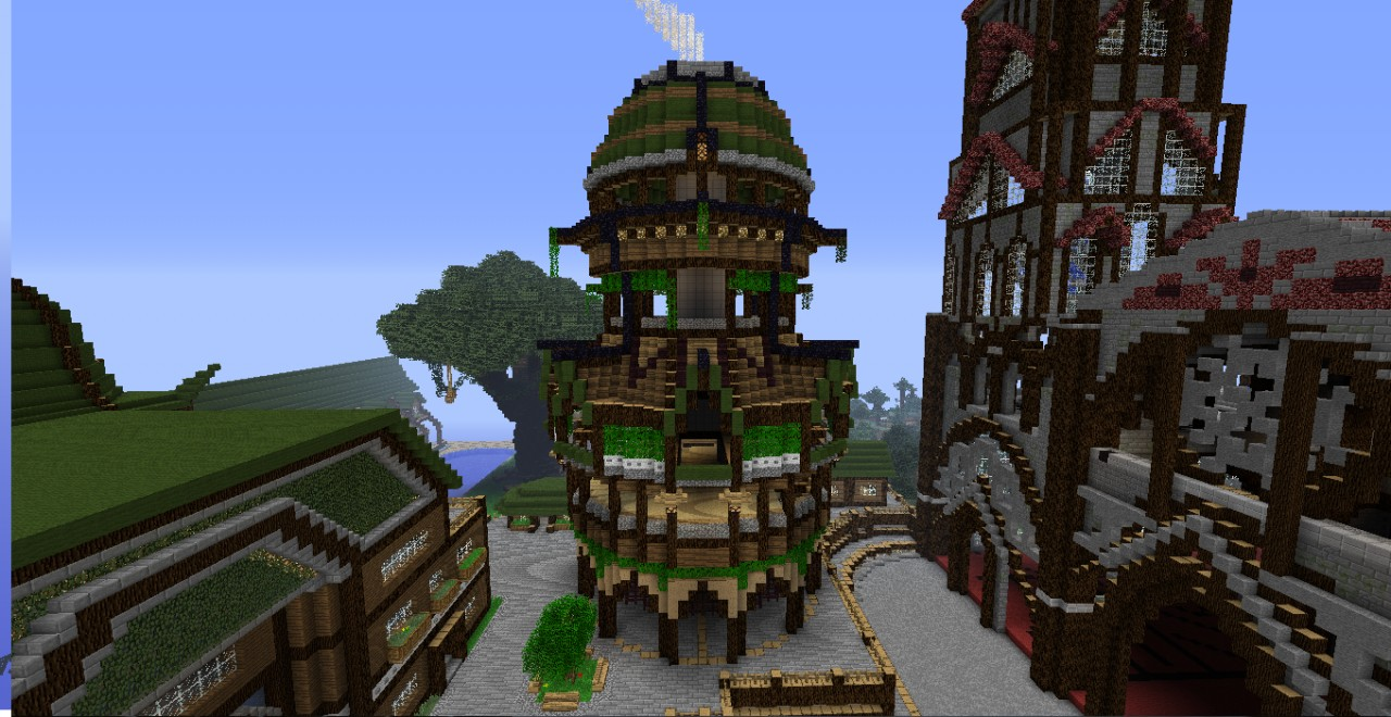 Dry Dock's Ship Forge Minecraft Project