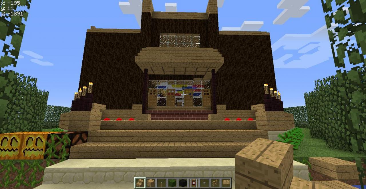 astounding my best house ever minecraft project interior design ideas pearlmutiarus - Biggest House In The World 2012