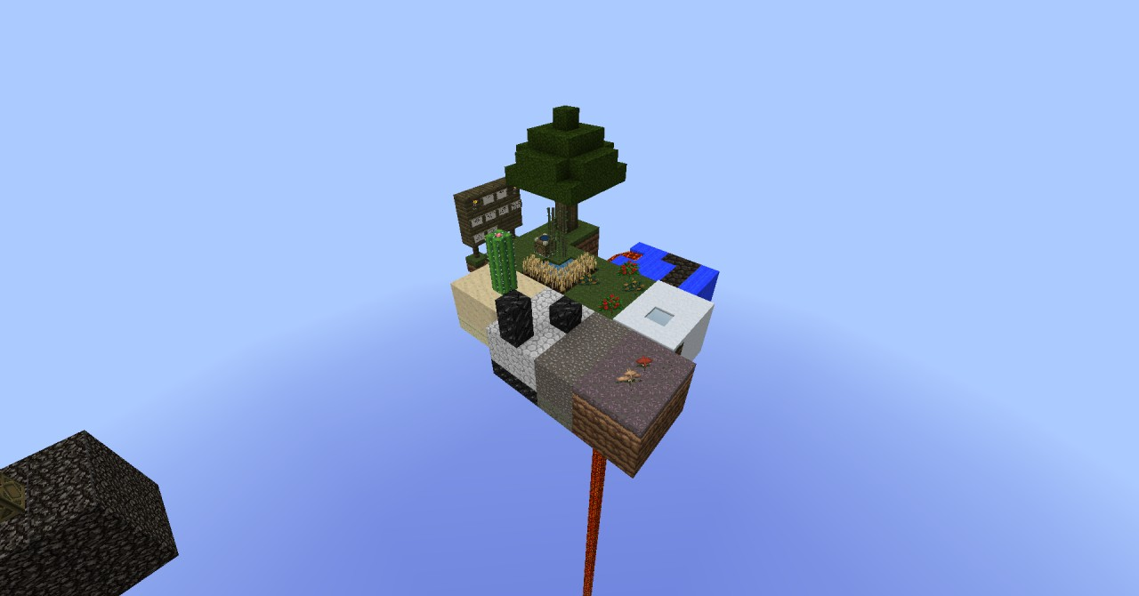 Project ozone 2 how to play skyblock on a server