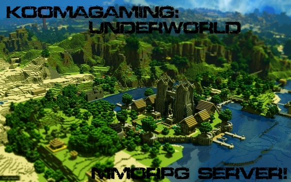 koomagaming underworld mmorpg server minecraft project