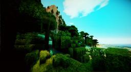 Jungle Caldera - custom terraforming - survival experience [1.2.5 ready] Minecraft Map & Project