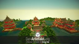 Chinese Temple of Jìng hú [Timelapse] Minecraft
