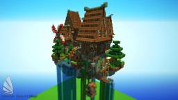 Flying Little Village Minecraft