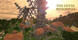 The Sister Windmills Minecraft Map & Project