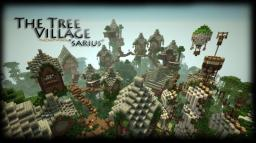 The Tree Village Of Sarius Minecraft Project