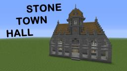 stone Town Hall : Funy Minecraft