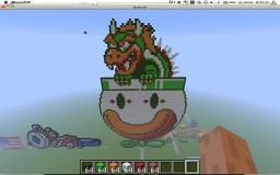 pixels Minecraft Map & Project