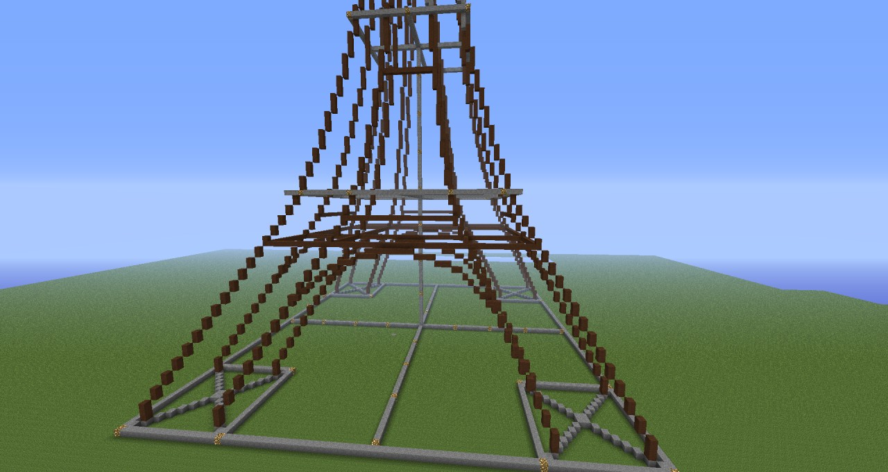 how to make a circular tower in minecraft