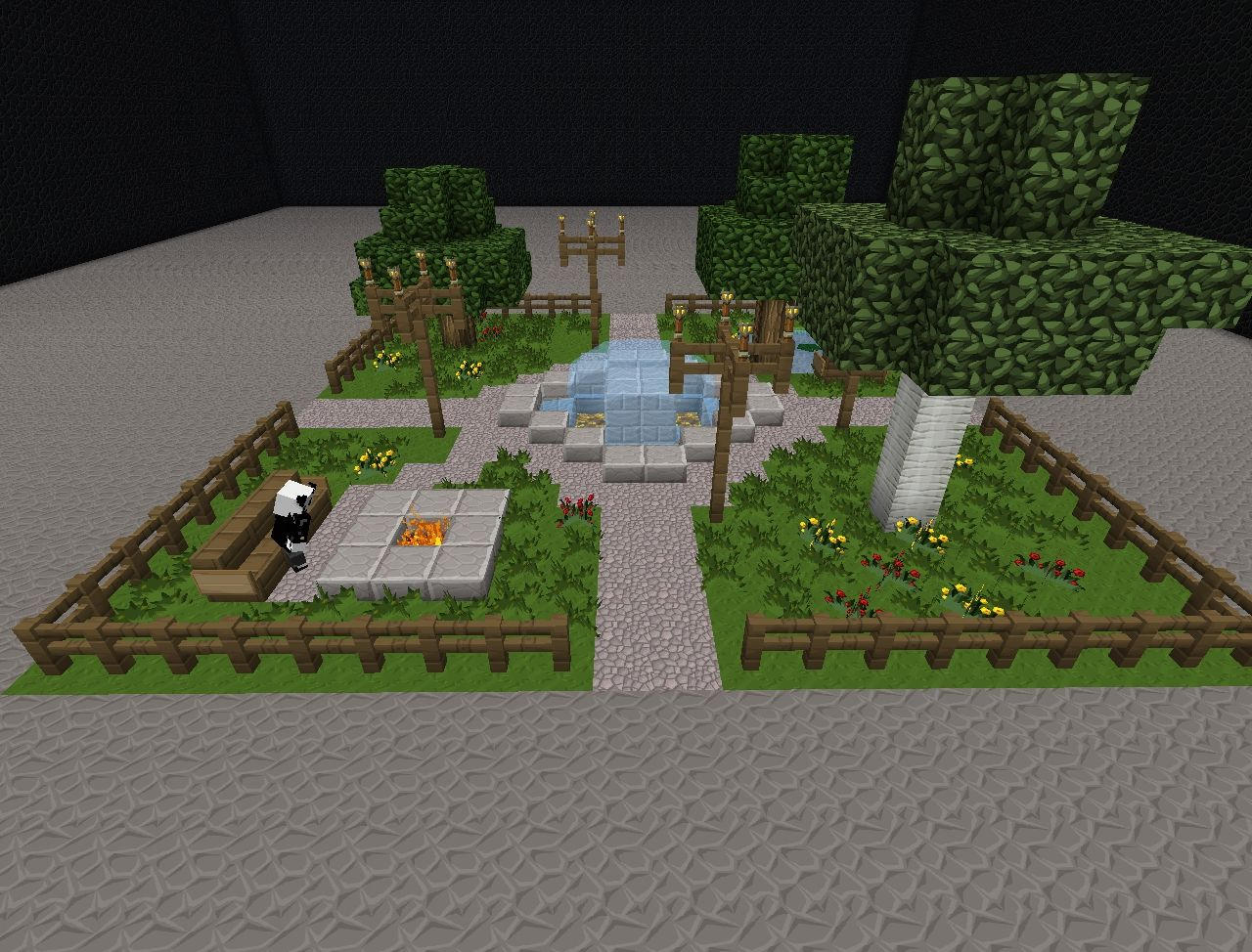 Small Park Minecraft Project
