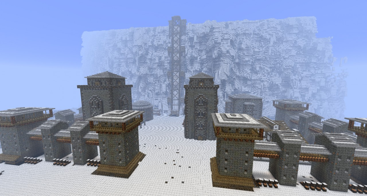 The Wall Castle Black Game Of Thrones Minecraft Project