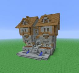 Medieval Dual Towers Minecraft Project