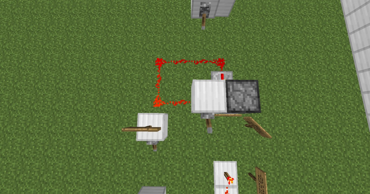 how to make a rapid dispenser in minecraft