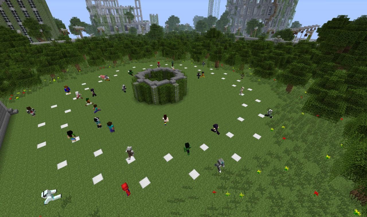 Hunger games minecraft server for Mine craft hunger games