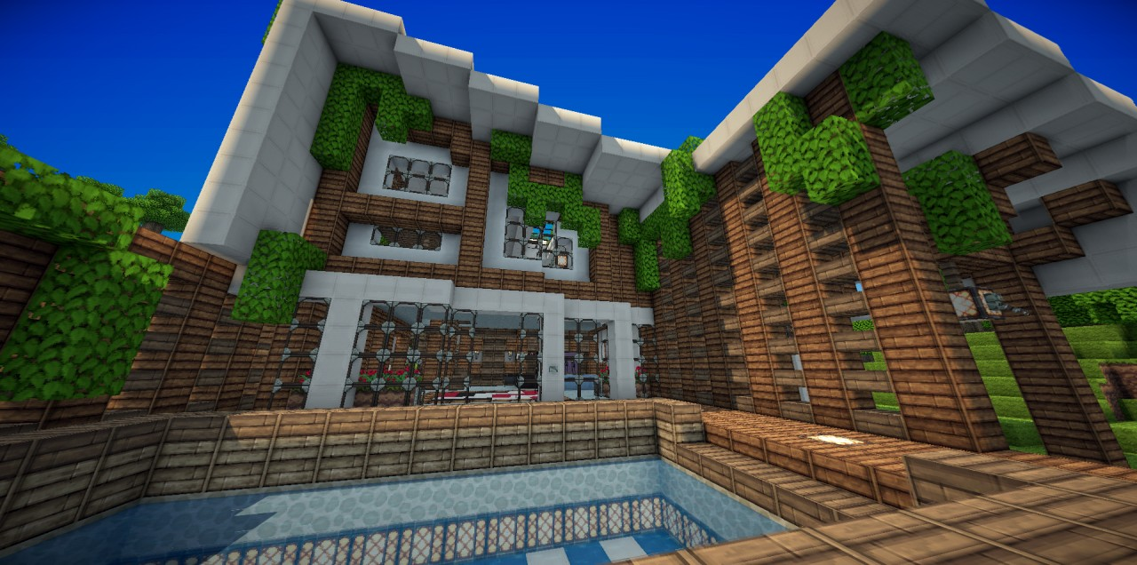 Minecraft Modern Roof ...